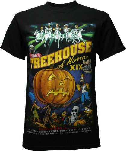 Simpsons Halloween Shirt.I Want To Buy This For Brandon Soo Bad Amazon Com Simpsons