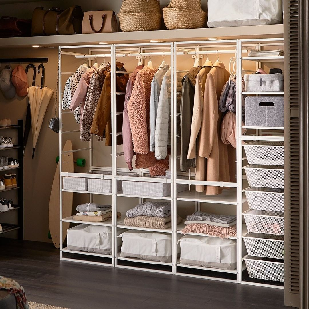 Mi Piace 3 487 Commenti 23 Ikea Usa Ikeausa Su Instagram Now Is A Great Time To Take Inventory Banish The Ikea Affordable Bedroom Bedroom Storage