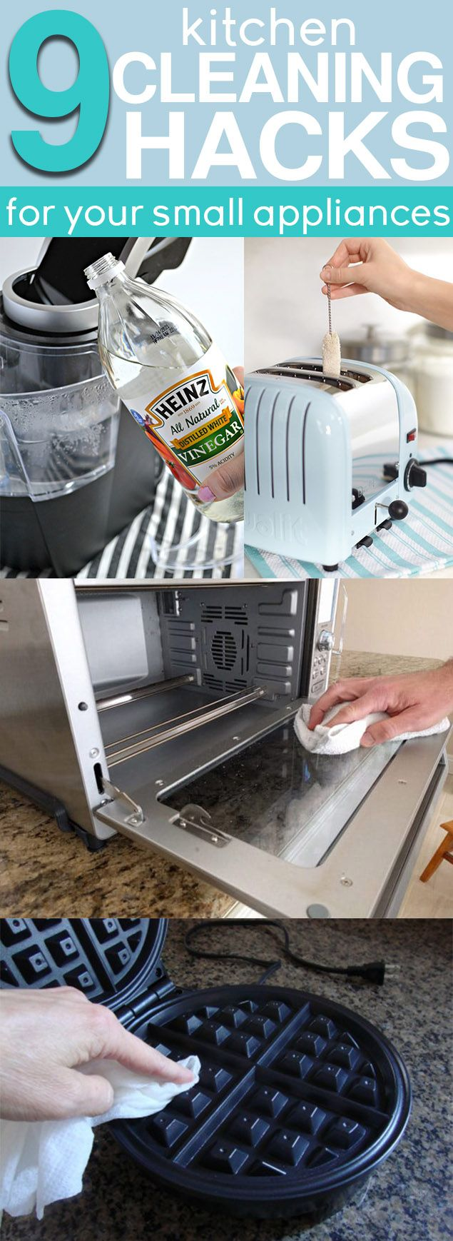 Best 9 Cheap Easy Ways To Clean Small Kitchen Appliances 400 x 300