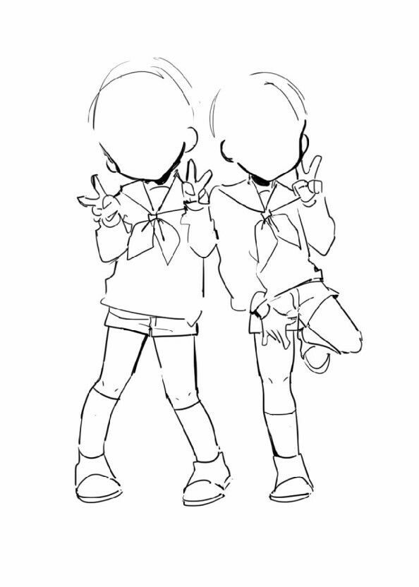 Cute Person Art Reference Drawings Anime Poses Reference
