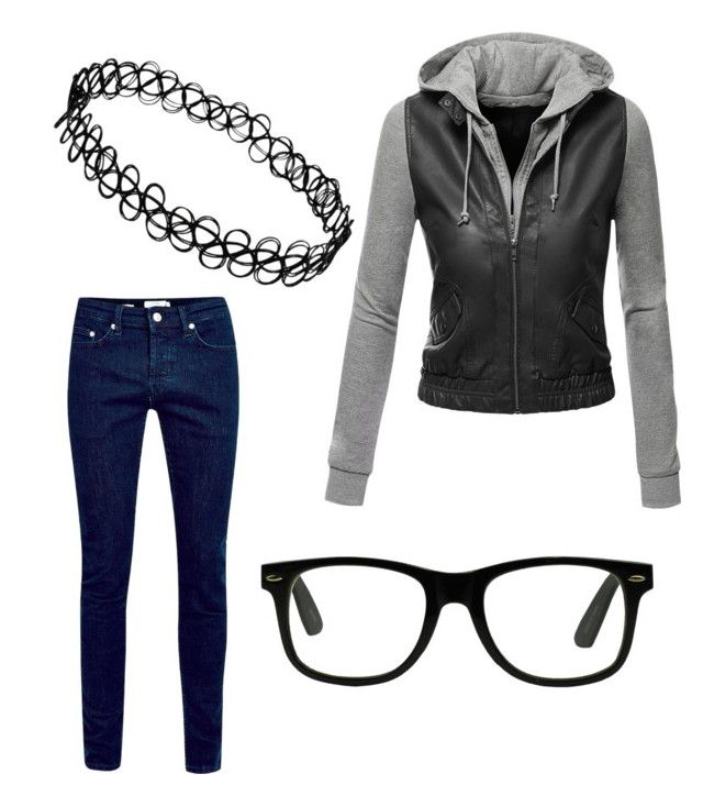 """Untitled #896"" by evanmonster on Polyvore featuring Doublju"