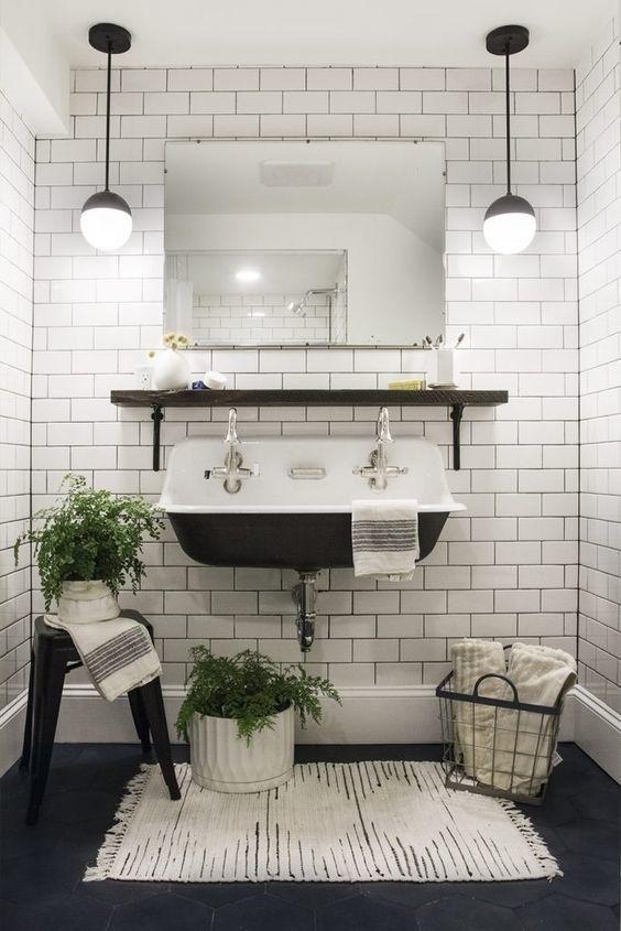 ordinary einfache dekoration und mobel grosses badezimmer schoene ideen #1: 23 wahnsinnig schöne Wasch- und Spülbecken, die du überall auf Pinterest  sehen wirst. Einfaches BadezimmerBadezimmer ...
