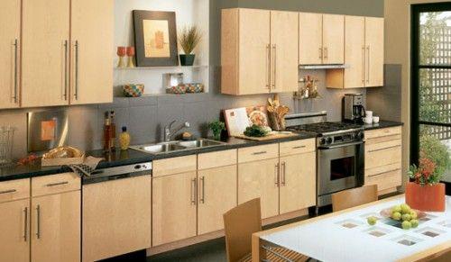 Modern Natural Maple Kitchen Cabinet Maple Kitchen Cabinets New Kitchen Cabinets Modern Maple Kitchen