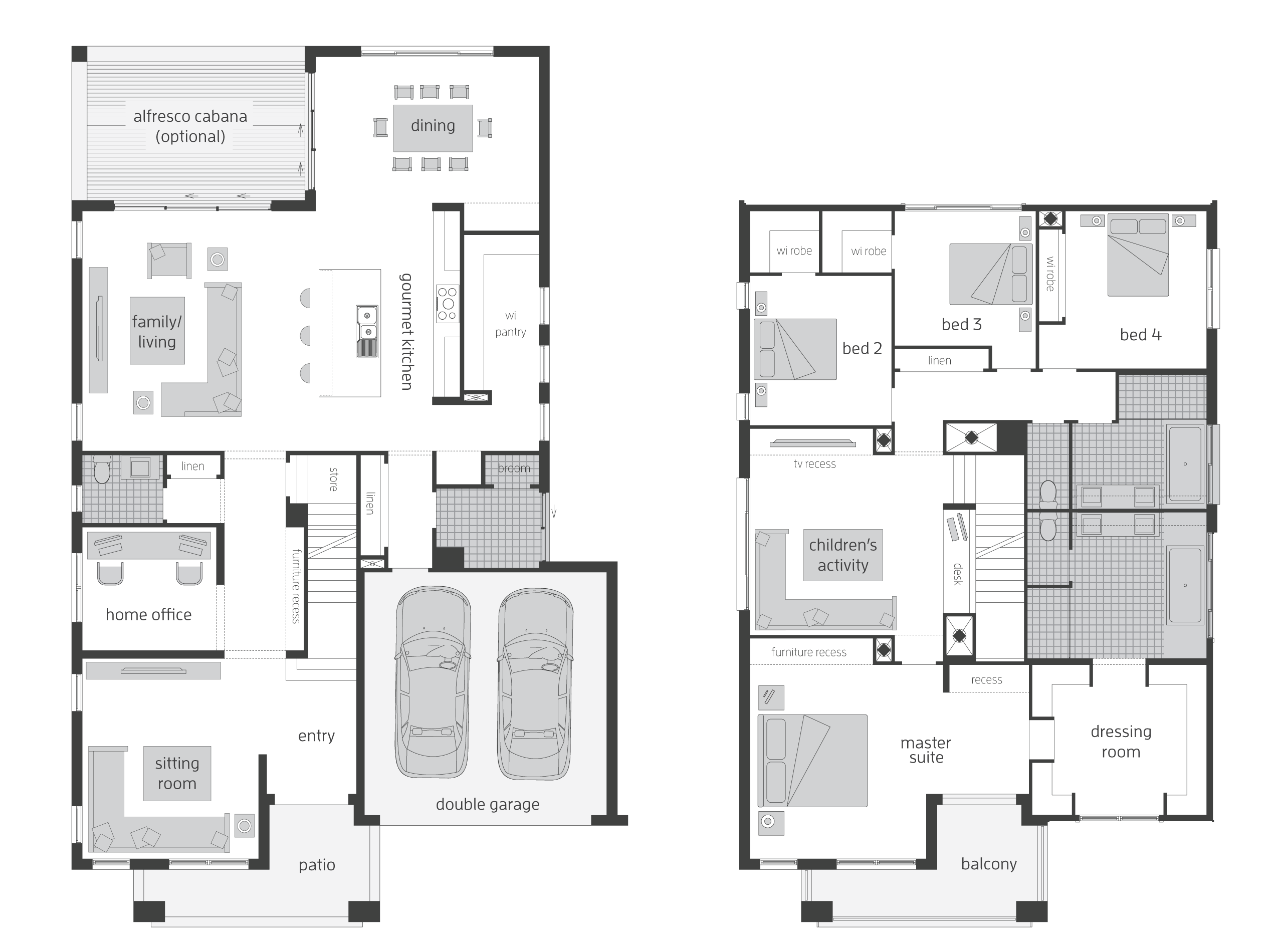 Tallavera   Floorplans | McDonald Jones Homes