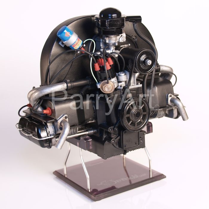 Electric Motor Kit For Volkswagen Beetle: Front View Of The Weedub 1/4 Scale Model