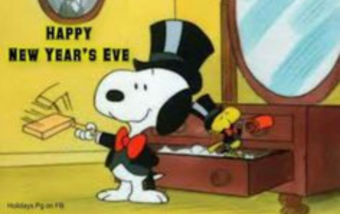 New years eve Snoopy new year, Snoopy happy new year