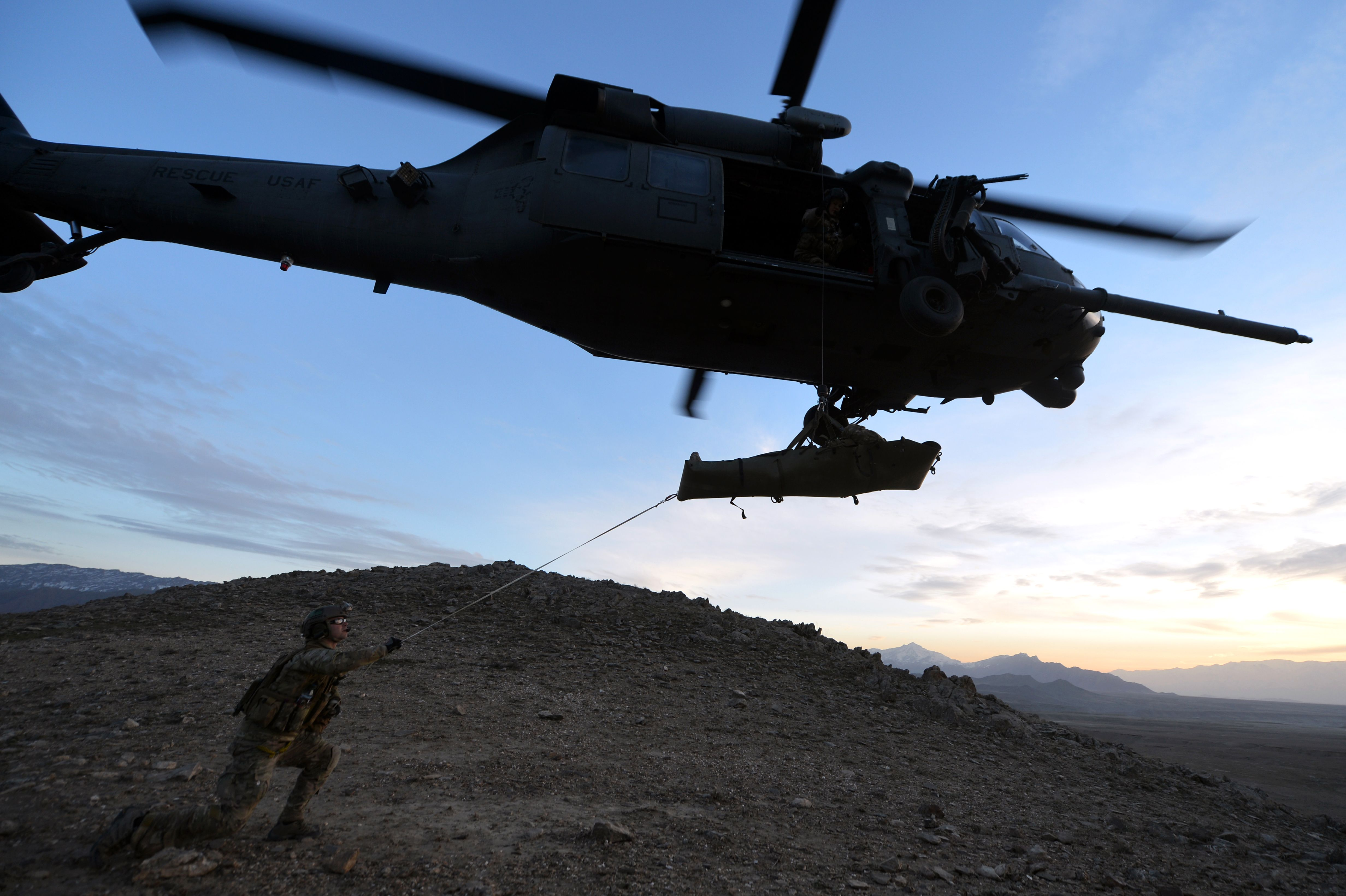 Combat Medic Angel | : Members of the 83rd Expeditionary Rescue Squadron Guardian Angel ...