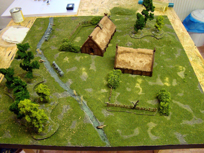 Commission Works Saga Game Table Tabletop Basement Dark Age