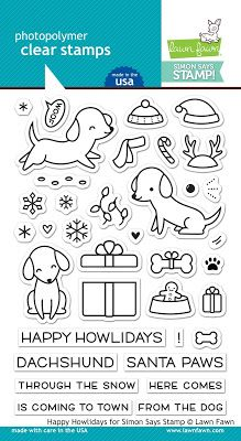 Image result for happy howlidays lawn fawn