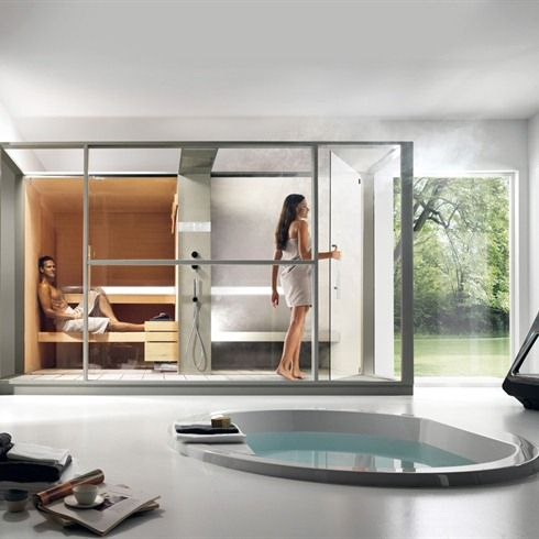 infrarood sauna in badkamer - Google zoeken | Bath Ideas | Pinterest ...