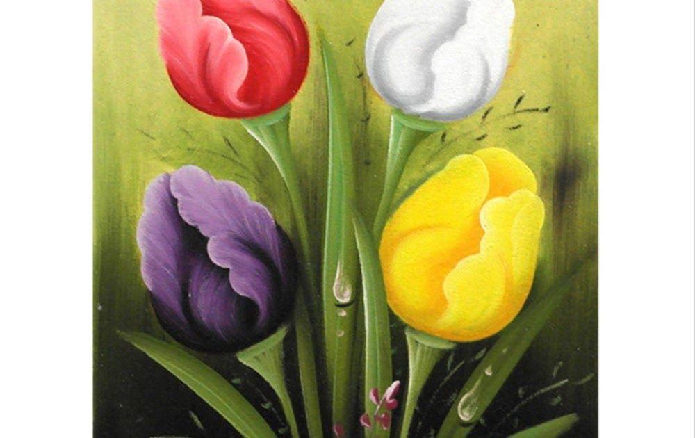 11 Gambar Lukisan Bunga Tulip Di Kanvas Gambar Sketsa Bunga Sketsa Ialah Salah Satu Langkah Awal Yang Perlu Di Lakuk Gambar Bunga Bunga Bakung Lukisan Bunga