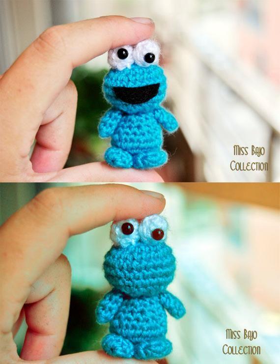 Cookie Monster #muñecosdeganchillo