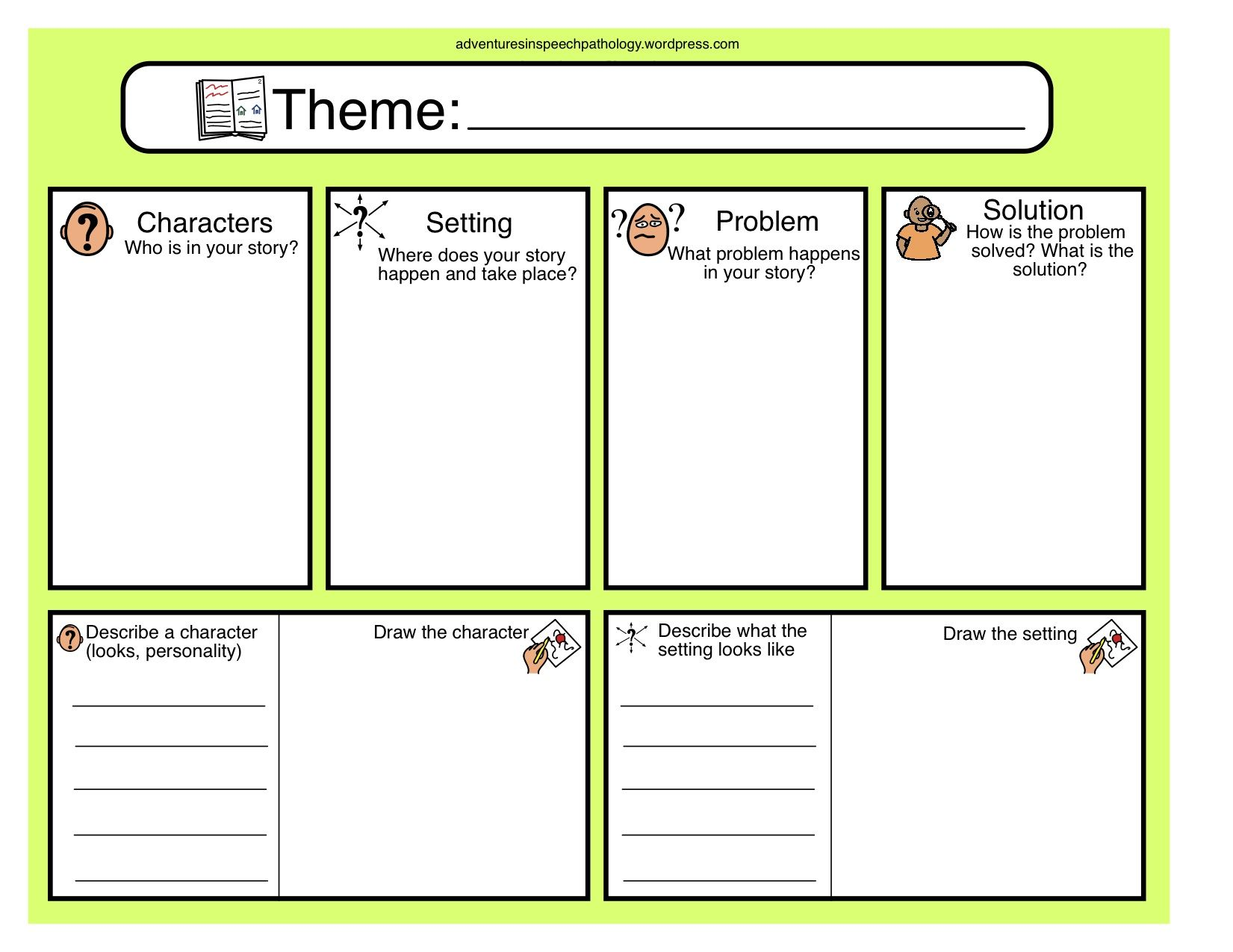 graphic organizer for writing a story Table of contents 3 column notes questions i have explanation from reading my conclusion or observation 3-2-1 strategy things i found out interesting or unusual.