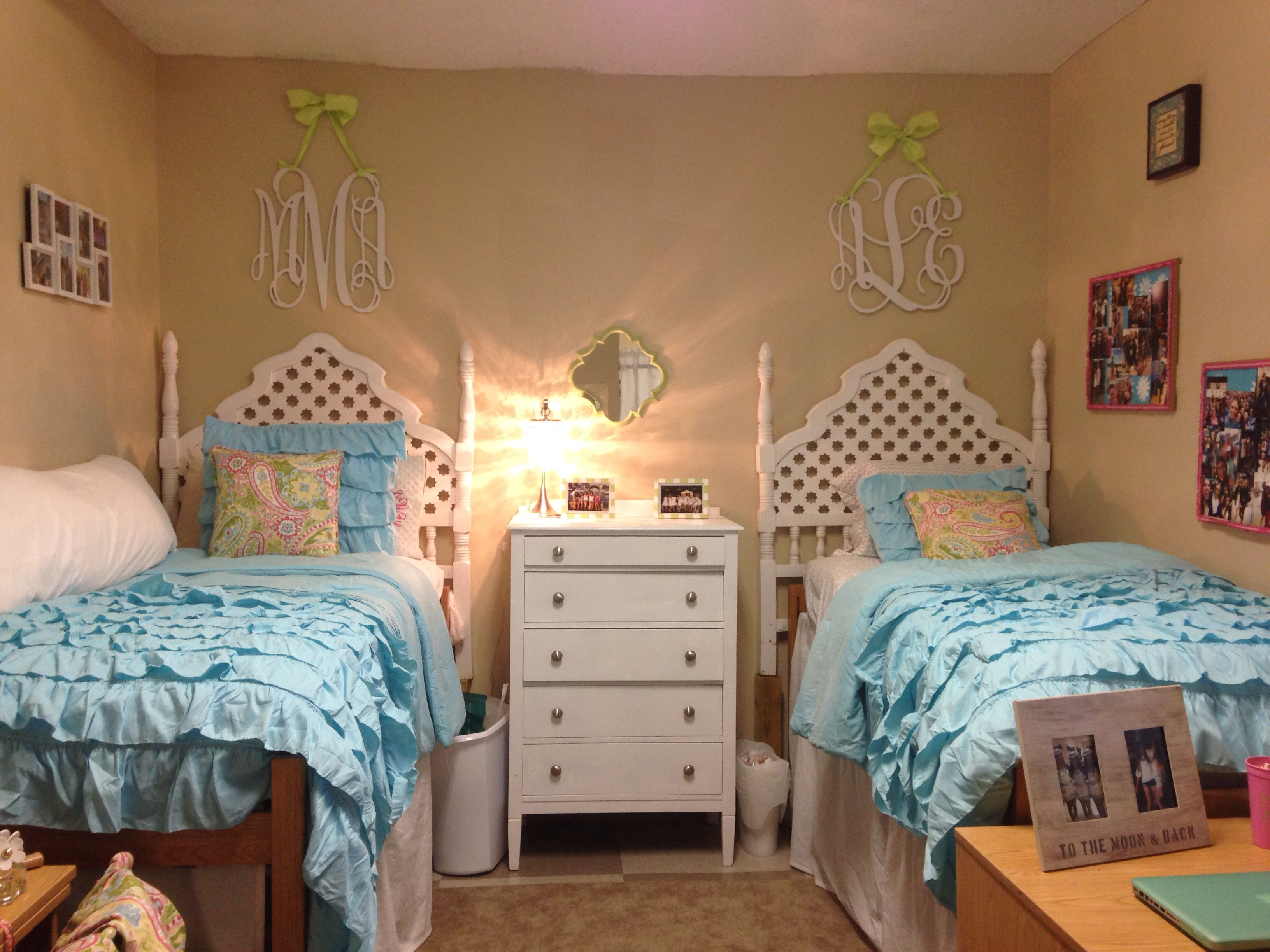 My Dorm At Ole Miss In Stewart Hall Dorm Sweet Dorm Dorm Essentials Cute Dorm Rooms