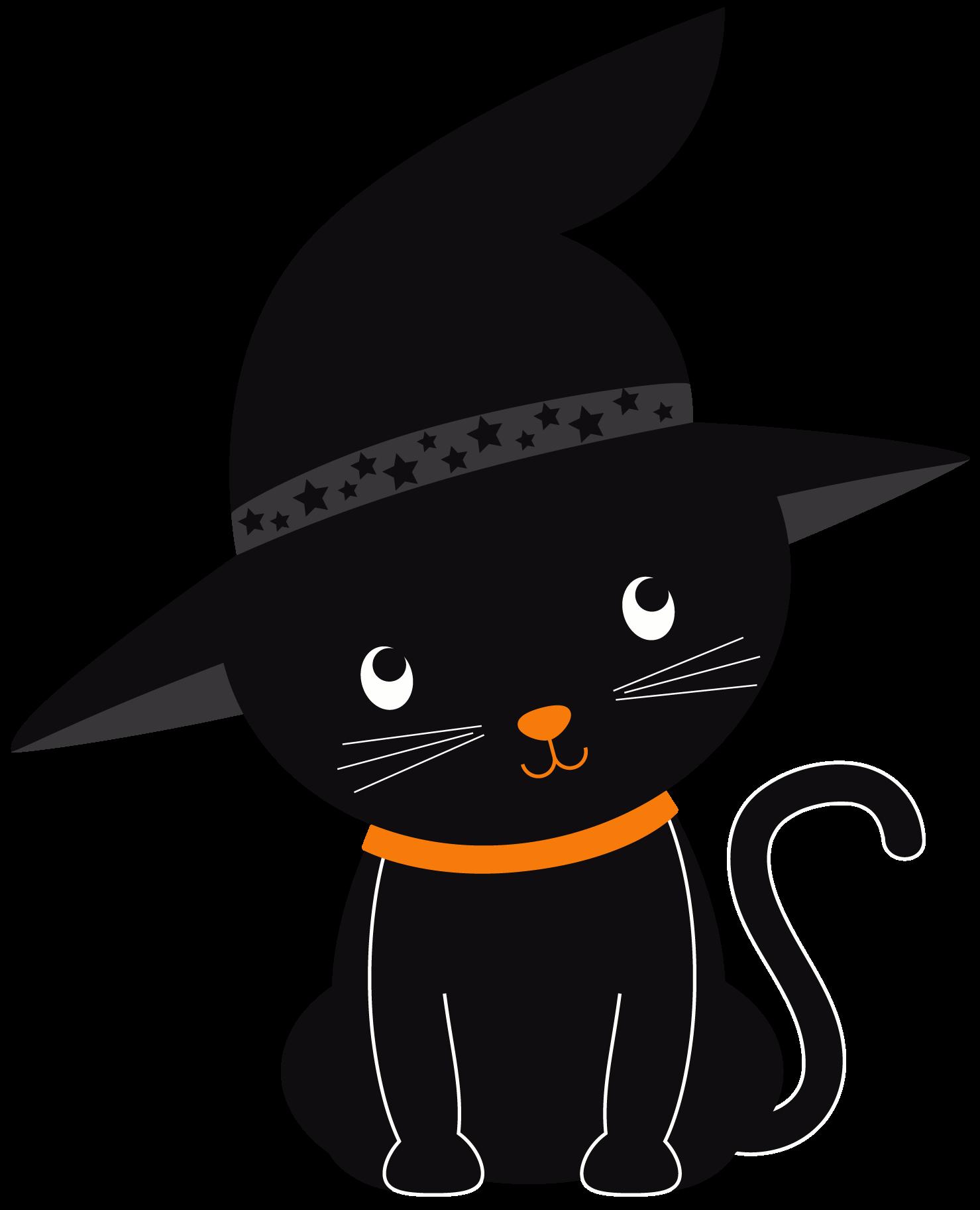 Halloween - HalloweenKittenClipArtSet_ID#182-02.png ...