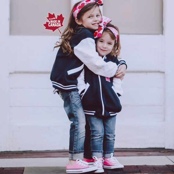 7a102cd2235 Personalized Kids Varsity Jacket, Custom Letterman Jacket, Toddler Varsity  Jacket, Monogrammed Jacket,