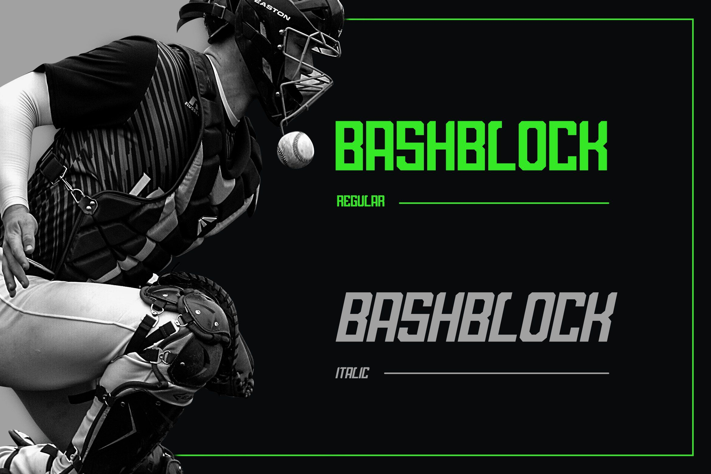 Bashblock Display Font With Images