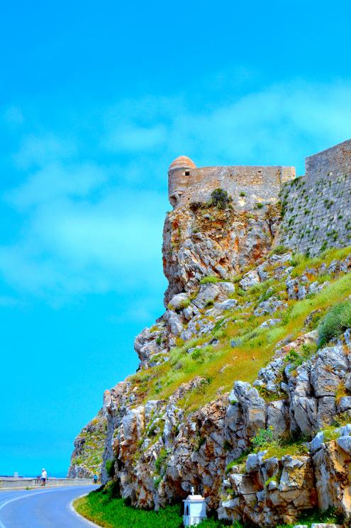 Fortezza-linnoitus kertoo Rethmynonin pitkästä historiasta.  #Rethymnon #Kreeta #Aurinkomatkalla #Aurinkomatkat