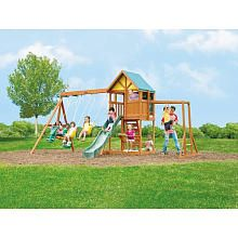 Westchester Wood Gym Set   Backyard toys, Big backyard ...