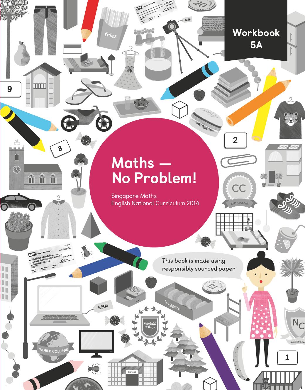 Workbooks primary mathematics workbook : Maths — No Problem! 5A Workbook | best | Pinterest | Math ...