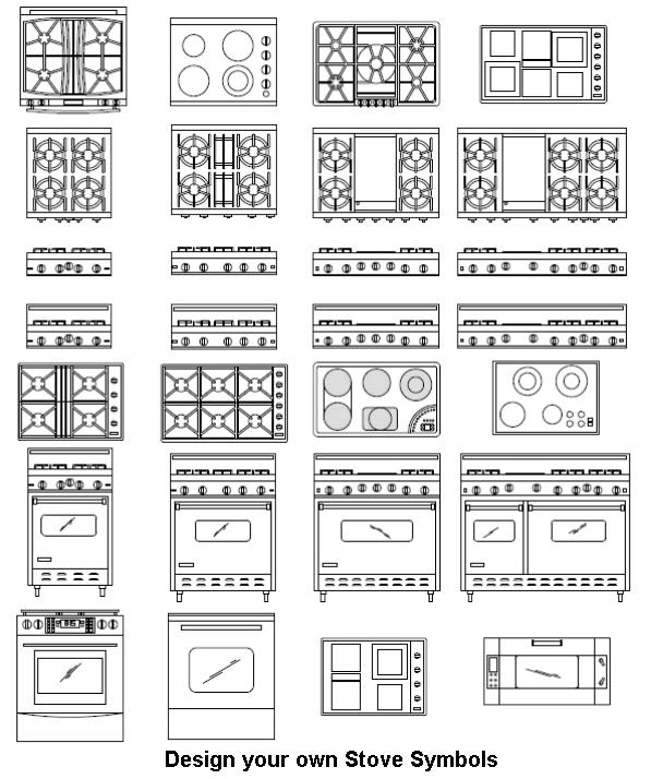 Cooker, Symbols, Architecture