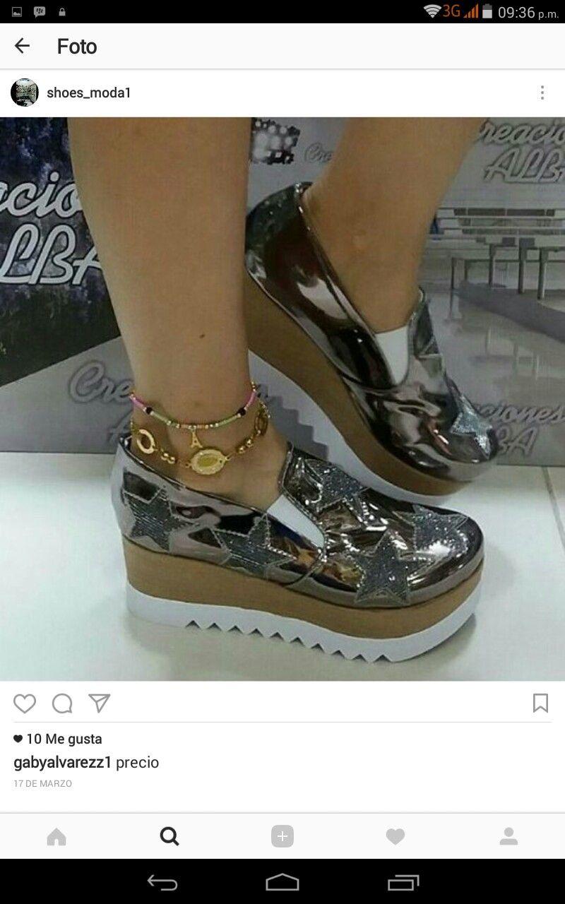7eb71cd799 Pin de daniela en Moda en zapatos en 2019