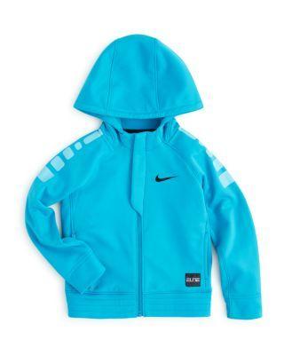 Nike Boys' Elite Stripe Zip Up Hoodie - Sizes 2-7 | Bloomingdale's
