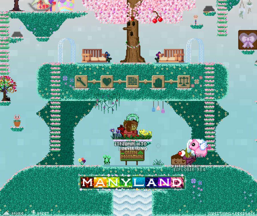 Manyland Yandere games, Yandere, Pixel games