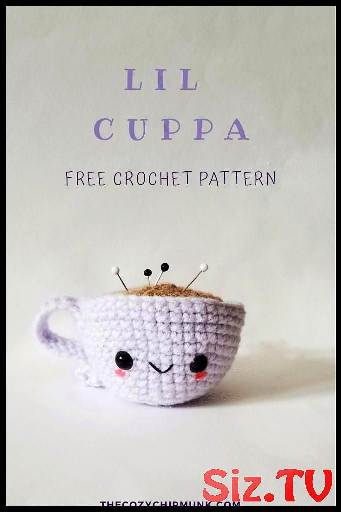 Lil Cuppa Lil Cuppa A Lil Cuppa Tea Or Coffee Amigurumi Crochet Pattern Great As A Toy Decoration Or Pin Cushion Lil Cuppa A Free Crochet Amigurumi Pattern Makes A Great Play Cup Of Tea Coffee And Pin Cushion Designed By Thecozychipmunk #amigurumifoodcups #cuppa #coffee #amigurumi #crochet #pattern #great #decoration #cushion #free #makes #play #designed #thecozychipmunk #cuppatea