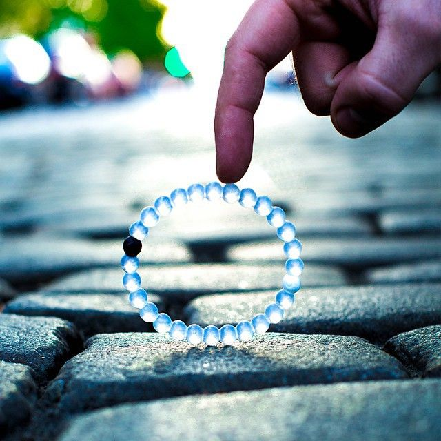I wear my Lokai bracelet to remember that life sees many altering moments-it's how you process them that matters most.