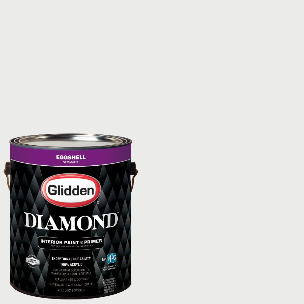 Diamond 1 gal. #nfl-176F New England Patriots White Eggshell ...