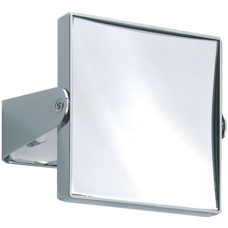 DWBA Rectangular Wall Cosmetic Makeup ADJ Magnifying Mirror. Chrome