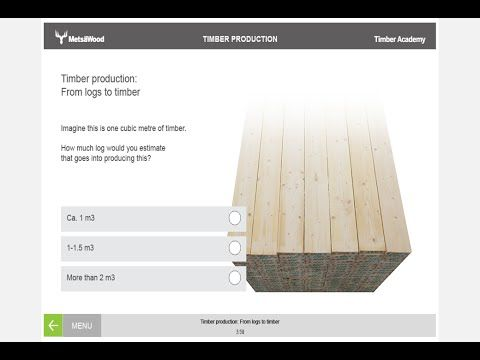 Timber Academy \u2013 free online learning tool for wood professionals