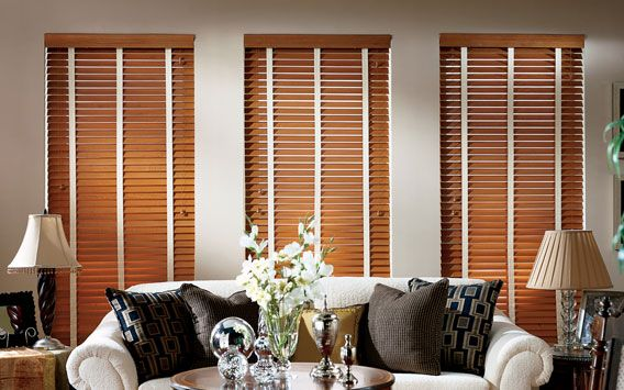 Blinds With Cloth Fabric Decorative Tapes In Living Room Www