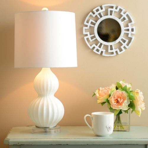 Kirklands Floor Lamps White Gourd Glass Table Lamp  Kirklands  صورة  Pinterest  Floor
