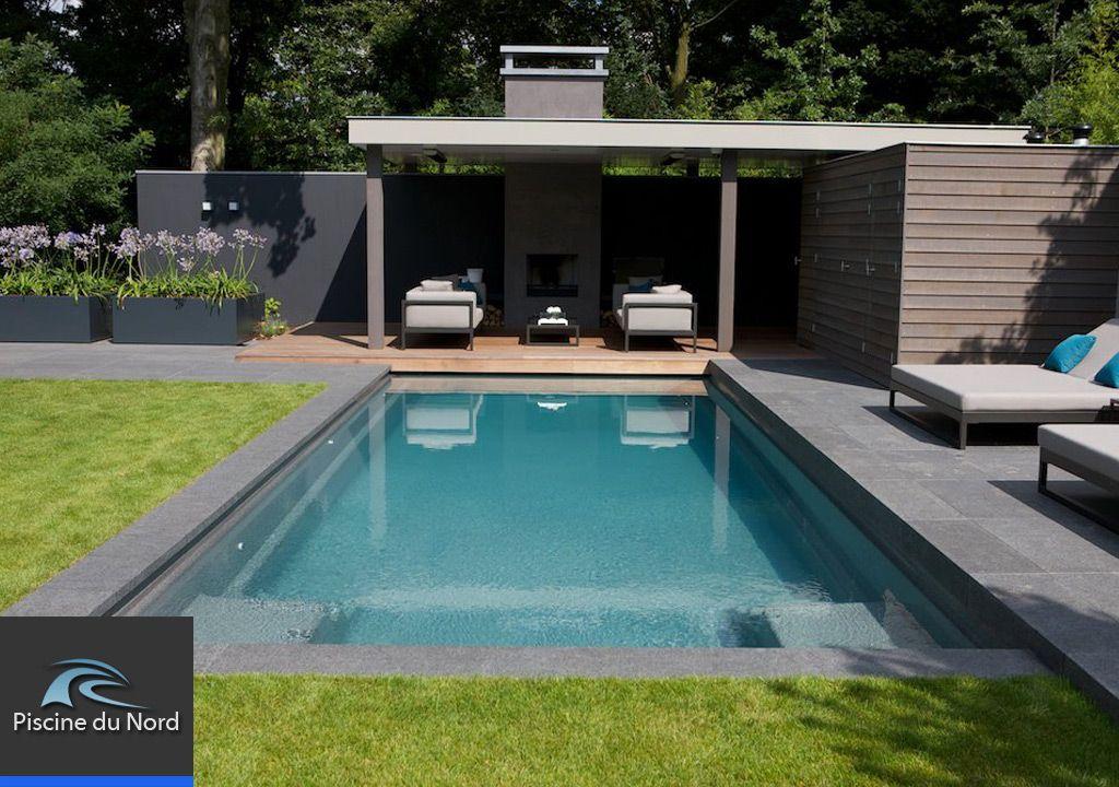 Une piscine entourée de verdure Jardin Pinterest Small pools