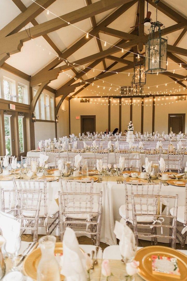 Stylish Gold And Pink Lake Geneva Wedding Pinterest Chic Reception