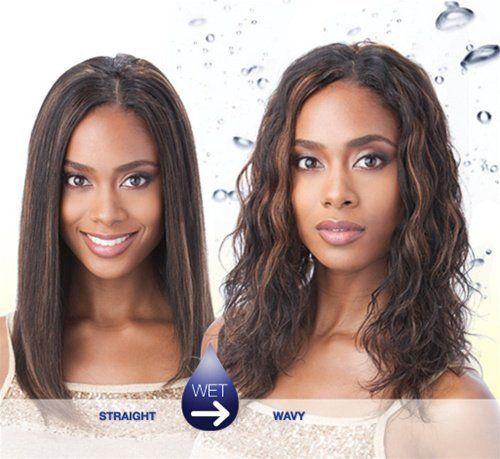 SHAKE-N-GO Milky Way Yaky Weave 100% Human Hair in 2020