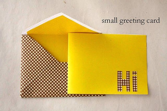 Lined Envelopes (With Templates) Things For Gifts Pinterest