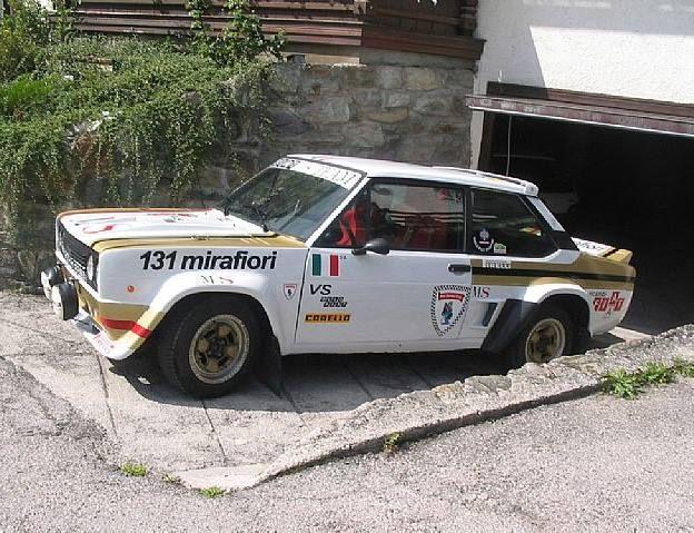 Fiat 131 Mirafiori Retro Cars Fiat Rally Car