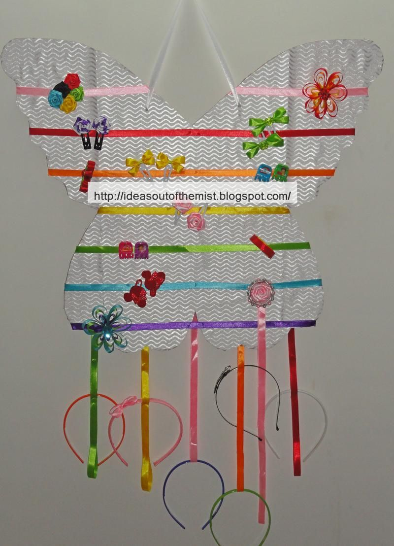 Hair Accessory Organizer Ideas Out Of The Mist Clips And Acessory Bow