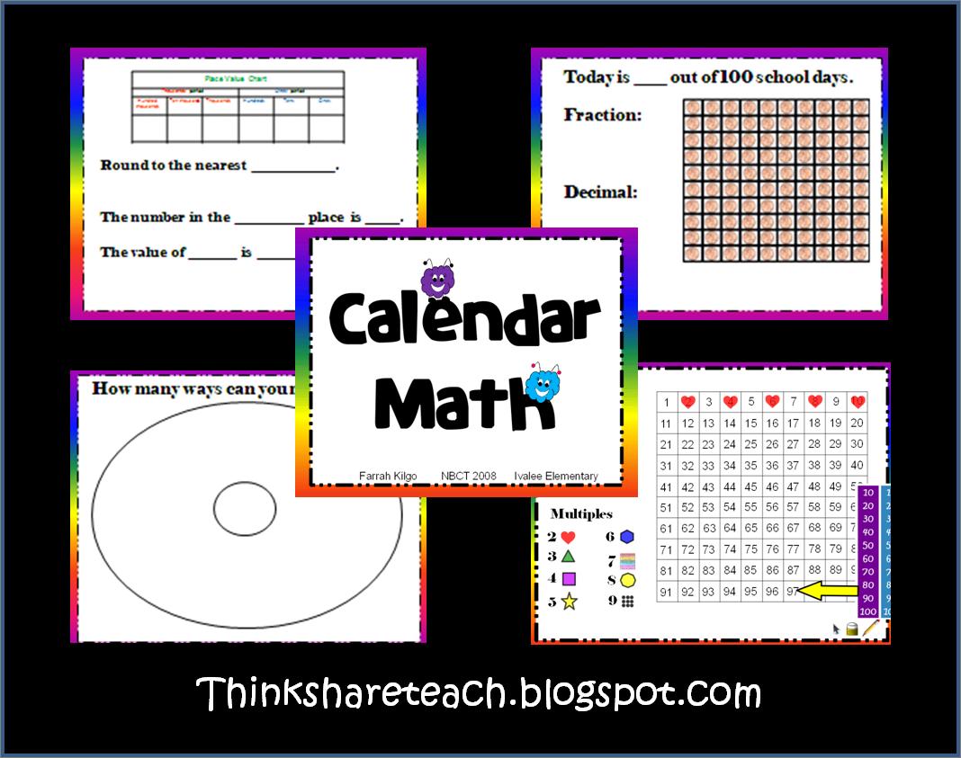 Kindergarten Calendar Powerpoint : Here s a great set of ppt slides and handouts for calendar
