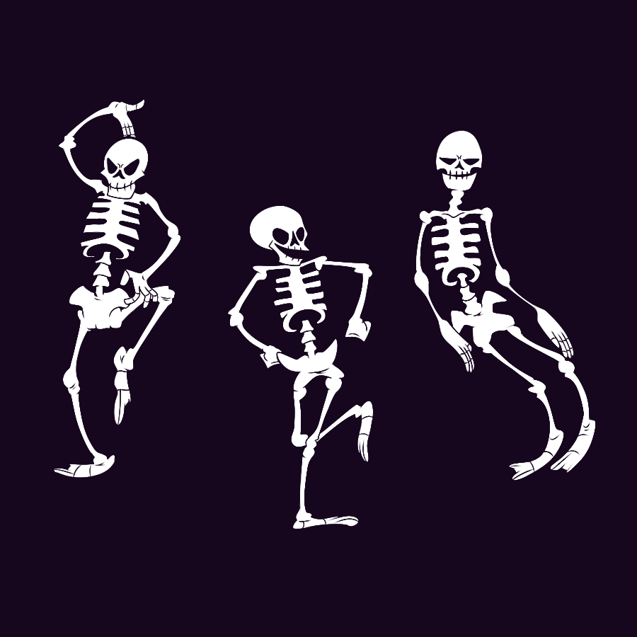 Spooky Scary Skeletons By Jamtoon On Deviantart Spooky Scary Scary Spooky