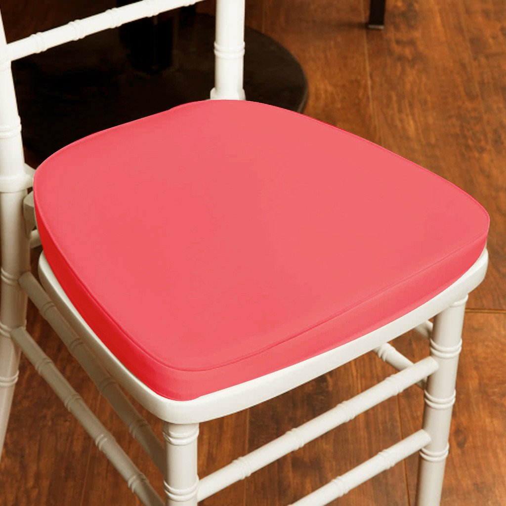 2 Thick Chair Pad Seat Padded Sponge Cushion With Poly Thread
