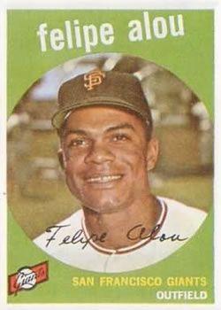 1959 Topps #102 Felipe Alou Front