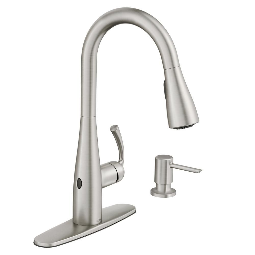 Moen Black Stainless Kitchen Faucet