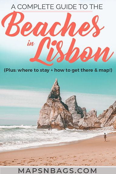 Guide to the Best Lisbon Beaches (That You Need to Visit!) #lisbon