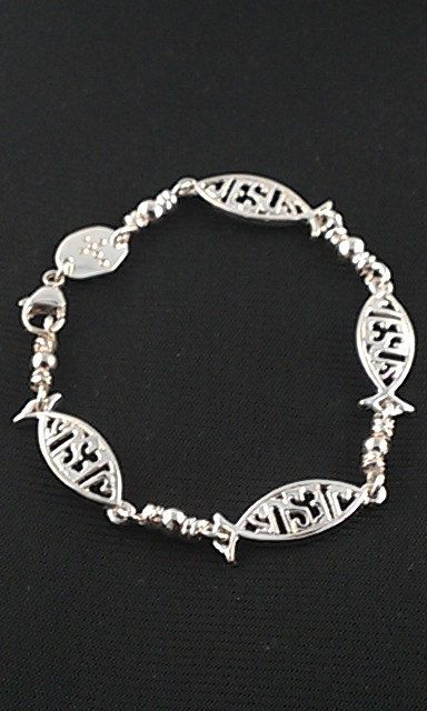 Acts Bracelet Sterling Silver Fishers Of Men By Actsjewelry 85 00