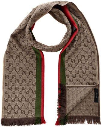 b572a0ea5 Gucci Scarf - Lyst | HOUSE OF ACCESSORIES™ | Gucci scarf, Gucci ...