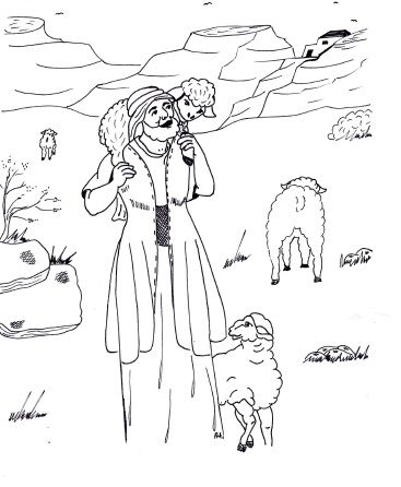 The Parable of the Lost Sheep.~ Sunday School Lesson ~ Sunday School Ideas.